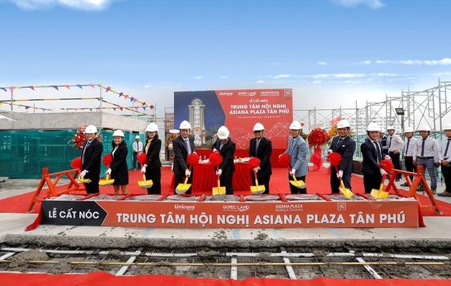 Gotec Land cất nóc dự án trung tâm hội nghị Asiana Plaza Tân Phú - 1