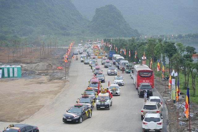 Hà Nam: 400 xe hoa tham gia rước Phật chào mừng Đại lễ Vesak 2019 - 11