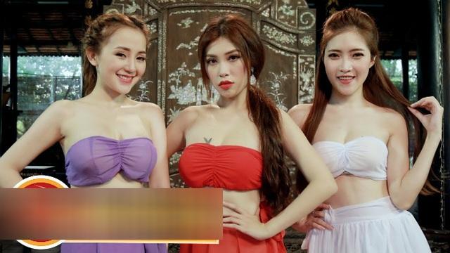Tràn ngập cảnh nóng, hot girl khoe thân trong web drama Việt - 1