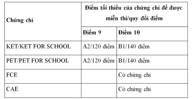 Chứng chỉ tiếng Anh quốc tế Cambridge đồng hành cùng học sinh thi vào lớp 10 THPT tại Đà Nẵng - 1