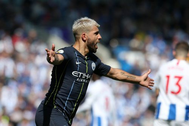 Brighton 1-4 Man City: Thầy trò Guardiola vô địch Premier League - 10