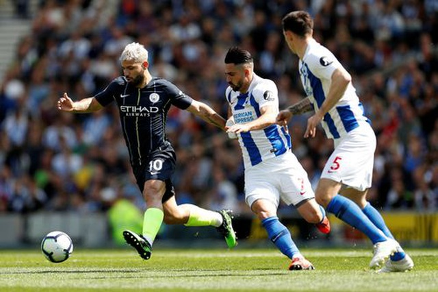 Brighton 1-4 Man City: Thầy trò Guardiola vô địch Premier League - 7