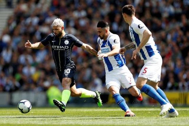 Brighton 1-4 Man City: Thầy trò Guardiola vô địch Premier League - 7