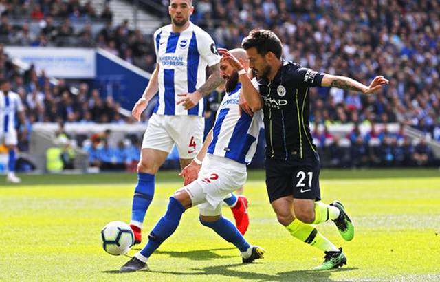 Brighton 1-4 Man City: Thầy trò Guardiola vô địch Premier League - 6