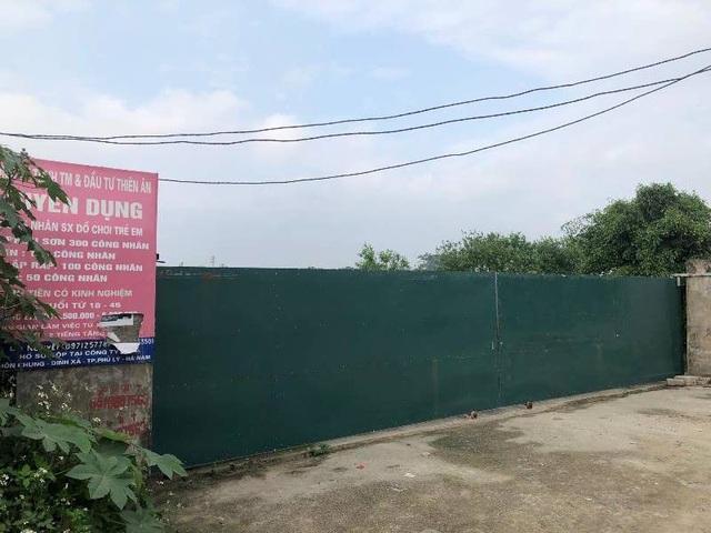 Vụ công nhân mất việc ở Hà Nam: Công ty không có công đoàn cơ sở - 1