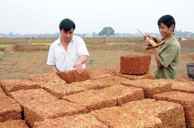 Kỳ công nghề đá ong ở Bình Yên - 11