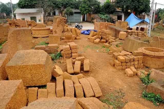 Kỳ công nghề đá ong ở Bình Yên - 3