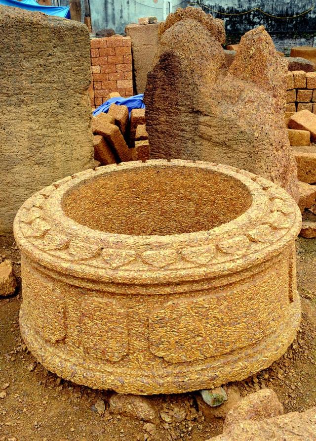 Kỳ công nghề đá ong ở Bình Yên - 8