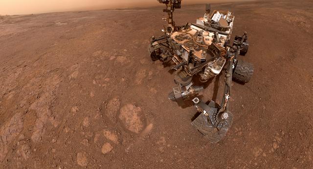 """Nhà sinh vật học của NASA: """"Cuộc sống trên Sao Hoả từng tồn tại"""" - 1"""