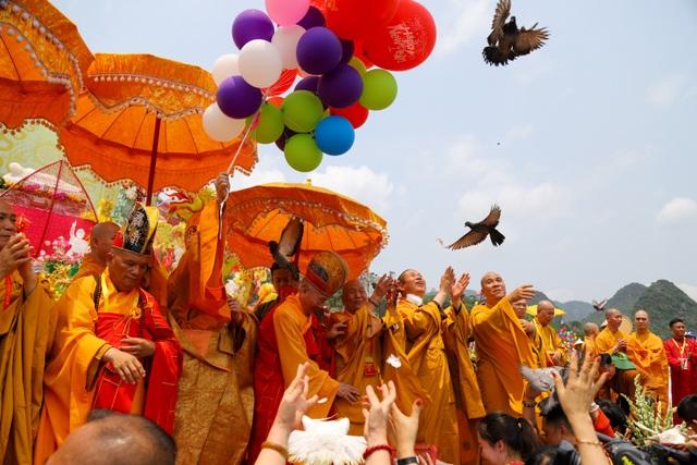 Nghi lễ tắm Phật truyền thống tại chùa Tam Chúc - 15