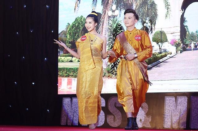 Nam thanh nữ tú ĐHQG Hà Nội khoe sắc với trang phục truyền thống 5 châu - 7