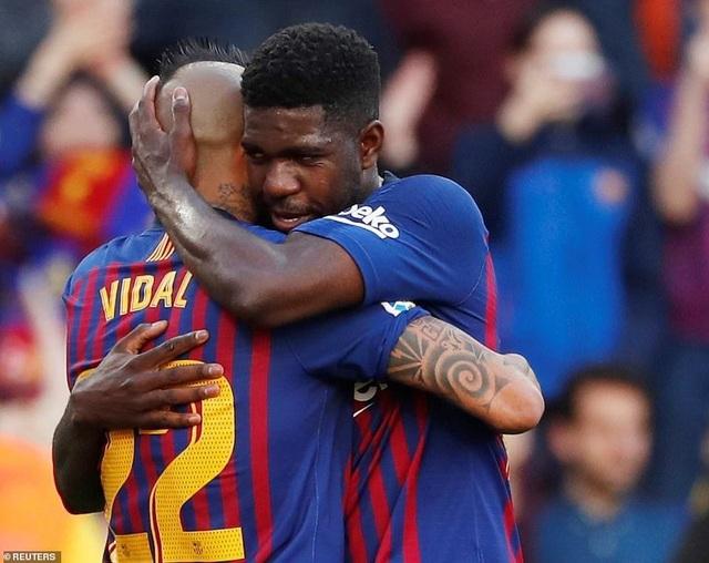 Barcelona đẩy Getafe vào thế khó trong cuộc đua dự Champions League - 3