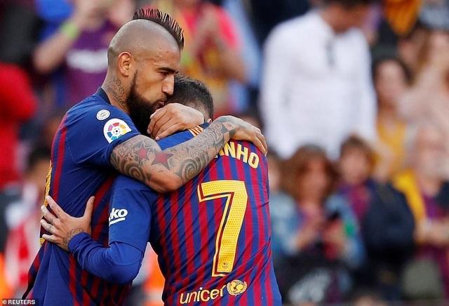 Barcelona đẩy Getafe vào thế khó trong cuộc đua dự Champions League - 4