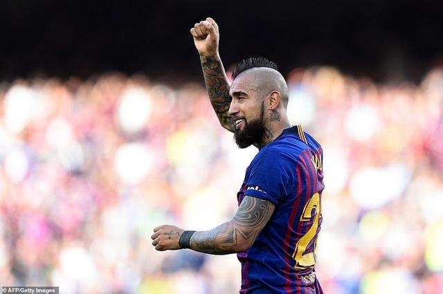 Barcelona đẩy Getafe vào thế khó trong cuộc đua dự Champions League - 2