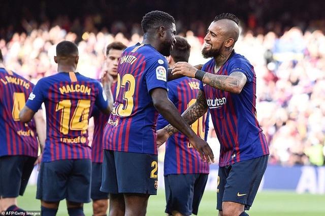 Barcelona đẩy Getafe vào thế khó trong cuộc đua dự Champions League - 9