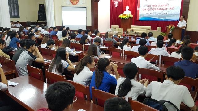 Ra mắt quỹ học bổng Vietseeds - Huế giúp sinh viên khá giỏi có tinh thần cống hiến - 2