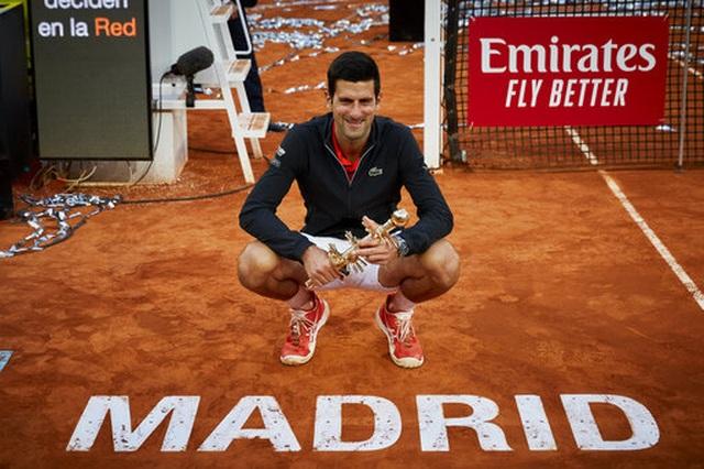 Novak Djokovic lần thứ ba vô địch Madrid Open - 1