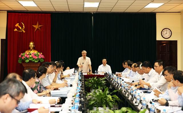Đoàn Tiểu ban Văn kiện Đại hội XIII làm việc với Bộ Ngoại giao - 1