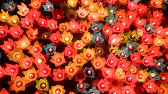 Lễ hội hoa đăng cầu nguyện hòa bình thế giới tại chùa Tam Chúc - 13