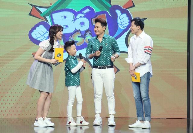 """Huy Khánh bị con gái """"vạch mặt"""" trên sóng truyền hình - 6"""