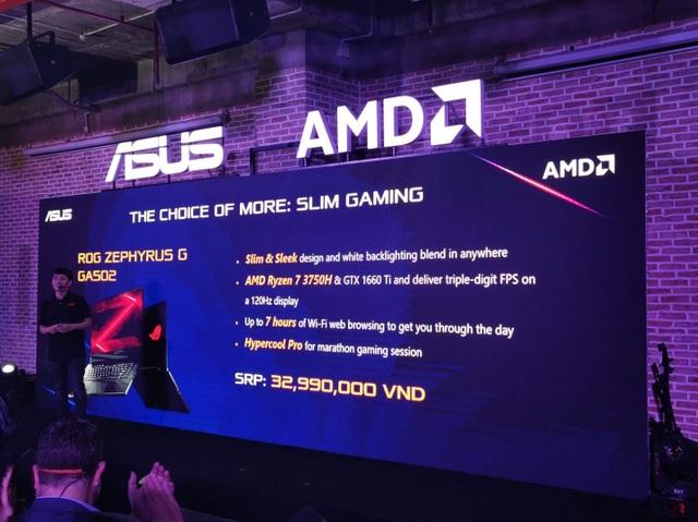 Asus trình làng loạt latop dùng nền tảng AMD Ryzen Mobile giá mềm tại Việt Nam - Ảnh minh hoạ 3