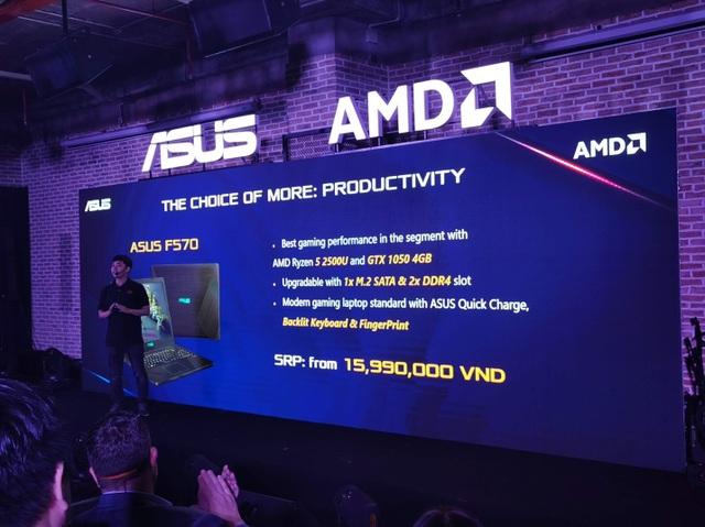 Asus trình làng loạt latop dùng nền tảng AMD Ryzen Mobile giá mềm tại Việt Nam - Ảnh minh hoạ 4