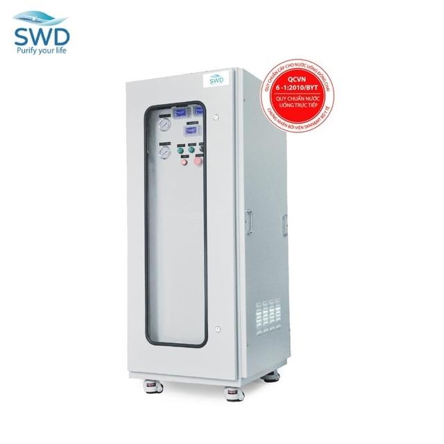 Máy lọc nước tổng sinh hoạt SWD công nghệ hàng đầu Nhật Bản: uống nước trực tiếp từ tất cả các vòi trong nhà - 1