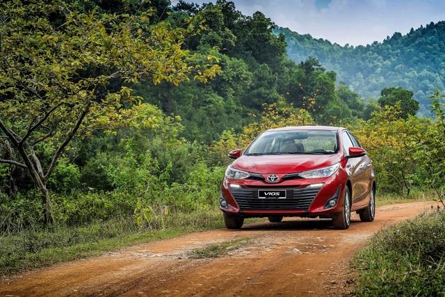 Toyota tặng quà hấp dẫn nhất trong năm cho khách hàng mua xe Vios 2019 - 2