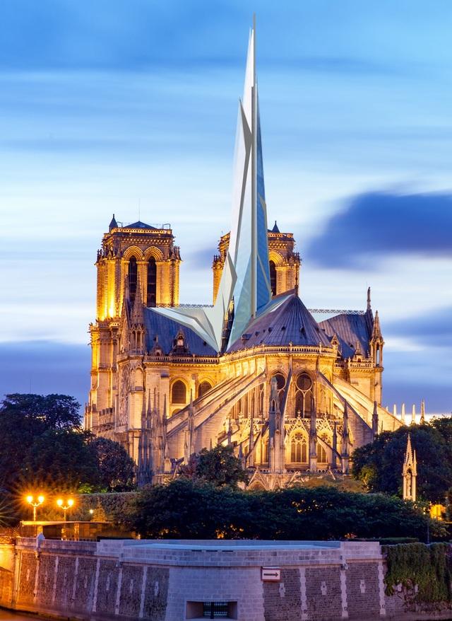 Diện mạo mới của nhà thờ Đức Bà Paris trông như thế nào? - 6