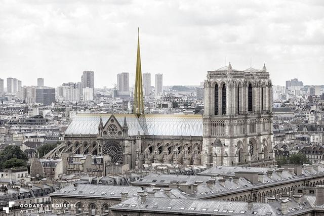 Diện mạo mới của nhà thờ Đức Bà Paris trông như thế nào? - 7