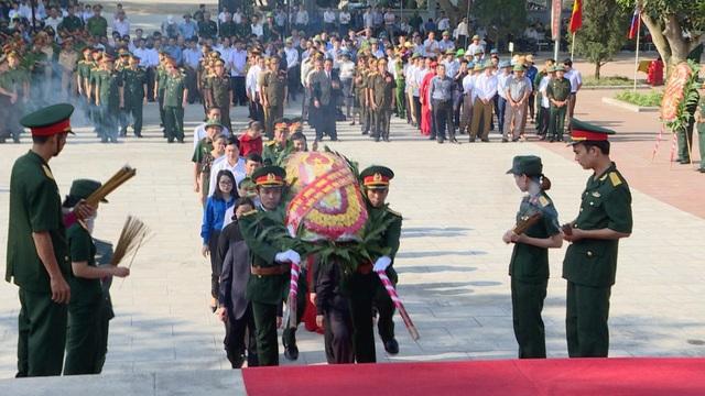 Nghệ An, Thanh Hóa tổ chức lễ an táng hài cốt liệt sĩ hy sinh tại Lào - 1