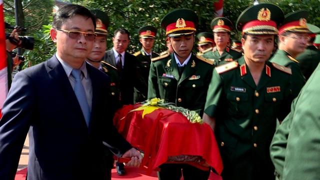 Nghệ An, Thanh Hóa tổ chức lễ an táng hài cốt liệt sĩ hy sinh tại Lào - 2