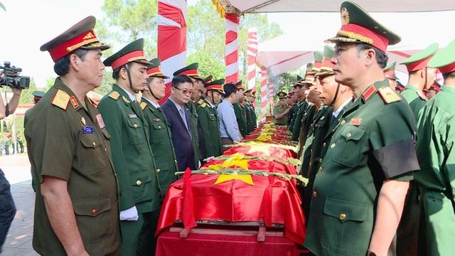 Nghệ An, Thanh Hóa tổ chức lễ an táng hài cốt liệt sĩ hy sinh tại Lào - 6