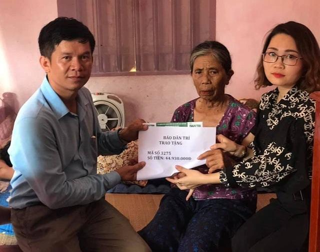 Bạn đọc Dân trí tiếp tục giúp đỡ 45 triệu đồng đến gia đình nữ phụ hồ bị ngã giàn giáo - 1