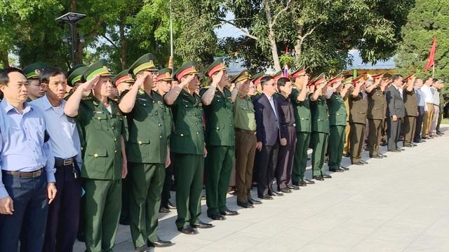 Nghệ An, Thanh Hóa tổ chức lễ an táng hài cốt liệt sĩ hy sinh tại Lào - 4