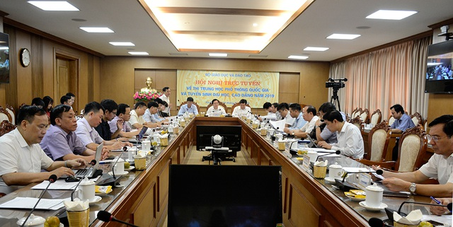 Lãnh đạo tỉnh Hoà Bình, Hà Giang, Sơn La hứa quyết tâm tổ chức tốt kỳ thi - 1