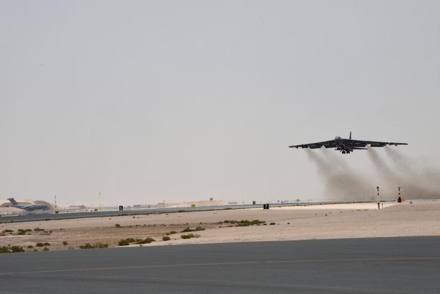 Vùng Vịnh căng thẳng, pháo đài bay B-52 của Mỹ áp sát Iran - 2