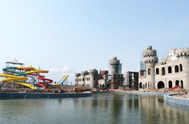 Sắp khai trương công viên nước Thanh Hà lớn nhất Hà Nội. - 5
