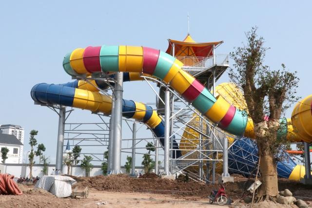 Sắp khai trương công viên nước Thanh Hà lớn nhất Hà Nội. - 6