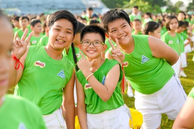 6.146 học sinh và hình ảnh ấn tượng về buổi đồng diễn đạt kỷ lục Guiness Việt Nam - 5