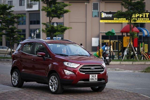 Có tiếng động lạ ở ghế trước, Ford EcoSport bị triệu hồi tại Việt Nam - 1