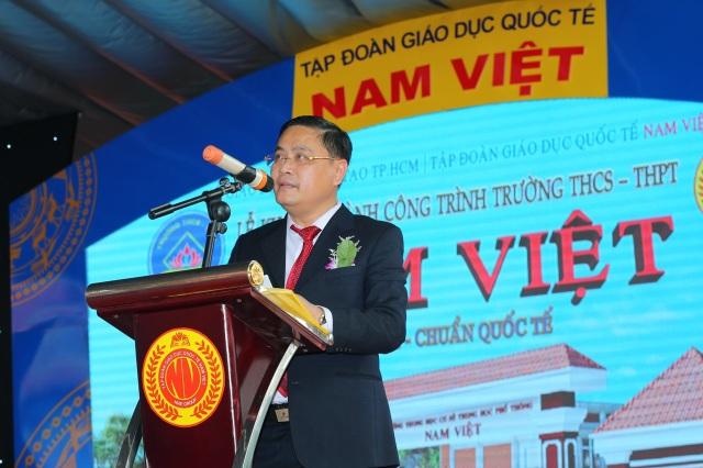 Tập đoàn giáo dục Quốc tế Nam Việt được giao chỉ tiêu tuyển sinh 850 học sinh lớp 10 - 1