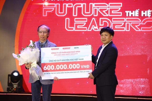 Trao 600 triệu đồng cho Quỹ Khuyến học Việt Nam thắp sáng ước mơ trẻ em tại Lai Châu - 1