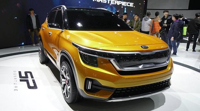 Kia hé lộ hình ảnh mẫu SUV cỡ nhỏ hoàn toàn mới - 3