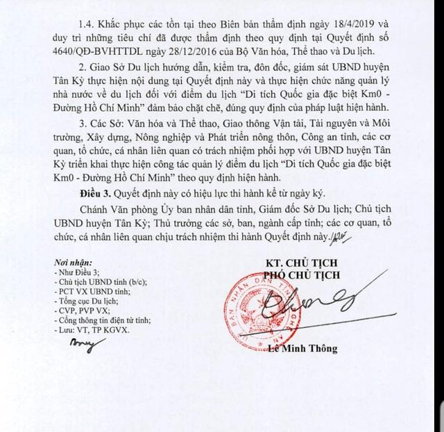Km số 0trên con đường huyền thoạiđược công nhận điểm du lịch xứ Nghệ - 2