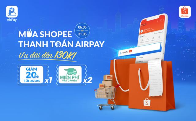 Shopee hợp tác với Ví điện tử AirPay tung khuyến mại khủng - 2