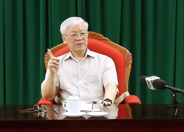 Tổng Bí thư, Chủ tịch nước Nguyễn Phú Trọng chủ trì họp lãnh đạo chủ chốt - 3