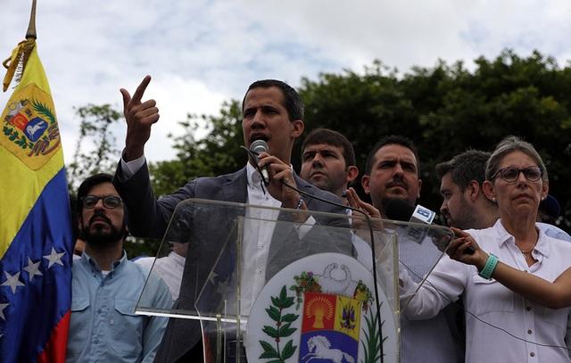 Phe đối lập Venezuela sắp gặp quân đội Mỹ bàn về hợp tác quân sự - 2