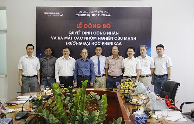 Một trường đại học tư công bố thành lập 8 nhóm nghiên cứu mạnh - 1