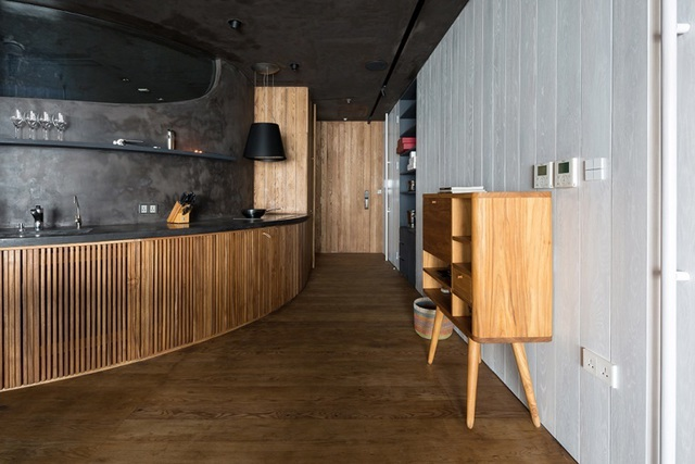 'Căn nhà gỗ giữa rừng Bắc Âu' ở Hà Nội đốn tim khách khó tính - 3